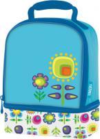 Термосумка детская Thermos Floral Dual (голубая)*