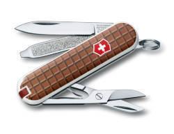 "Нож-брелок Victorinox Classic, 58 мм, 7 функций, ""The Chocolate"""
