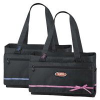 Термосумка детская Thermos Foogo Large Diaper Fashion Bag (черная/голубая)
