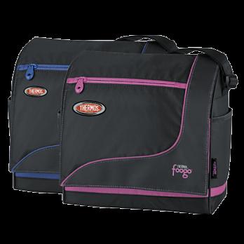 Термосумка детская Thermos Foogo Large Diaper Sporty Bag (черная/голубая)*
