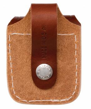 Чехол для зажигалки Zippo LPLB, коричневый, 57х30х75 мм