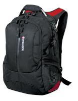 """Рюкзак Wenger Large Volume Daypack 15"""", черный/красный, 36х17х50 см, 30 л"""
