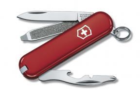 Нож-брелок Victorinox Classic Rally, 58 мм, 9 функций, красный*