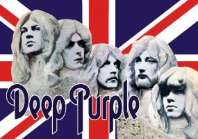 Флаг группы Deep Purple