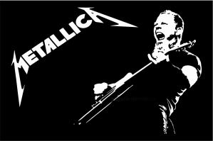 Флаг группы Металлика, Metallica