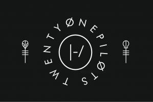 Флаг группы Twenty One Pilots