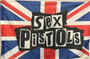 Флаг группы Sex Pistols