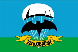 Флаг ВДВ 22 гв. ОБРСПН