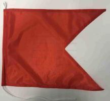 Флаг международного свода сигнала B Браво(Bravo)