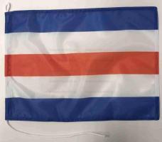 Флаг международного свода сигнала С Чарли (Charlie)