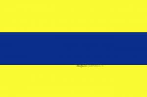 Флаг международного свода сигнала D Дельта (Delta)