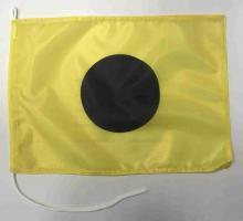 Флаг международного свода сигнала I Инди(India)