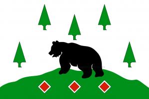 Флаг Бокситогорского муниципального района Ленинградской области