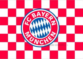 Флаг ФК  Бавария Мюнхен