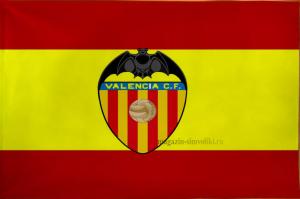 Флаг ФК Валенсия