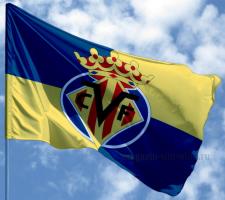 Флаг ФК Вильяреал