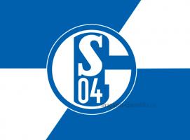 Флаг ФК Шальке 04
