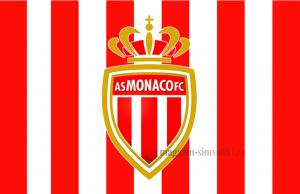 Флаг ФК Монако