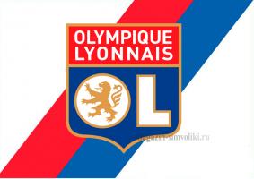 Флаг ФК Лион