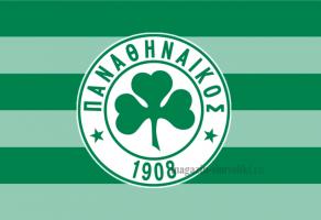 Флаг ФК Панатинаикос
