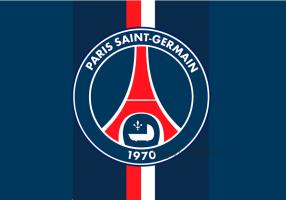 Флаг ФК ПСЖ (Пари Сан Жермен)