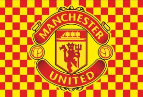 Флаг ФК Манчестер Юнайтед