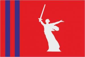 Флаг Волгоградской области