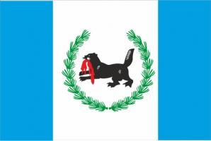 Флаг Иркутской области