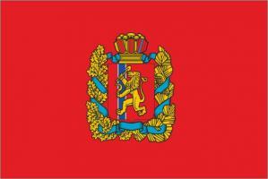 Флаг Красноярскоого края