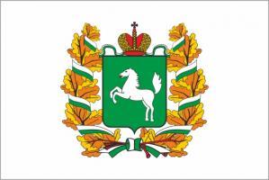 Флаг Томской области