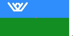 Флаг Ханты-Мансийского автономного округа (ХМАО)