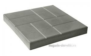 Плитка бетонная 40х40 см
