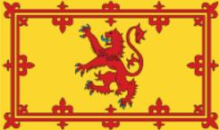 Королевское знамя Шотландии.