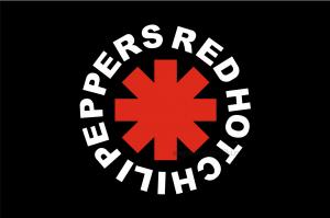 Флаг группы Red Hot Chili Peppers (RHCP)