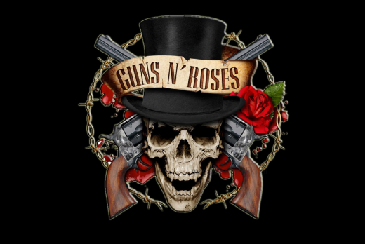 Флаг группы Guns N`Roses