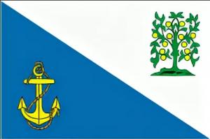 Флаг Ломоносовского муниципального района Ленинградской области
