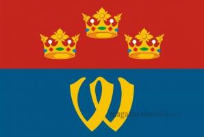 Флаг Выборгского муниципального района Ленинградской области