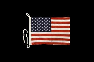 Флаг США на яхту