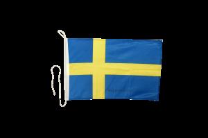 Флаг Швеции на яхту