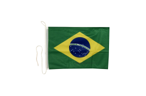 Флаг Бразилии на яхту