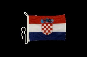 Флаг Хорватии на яхту