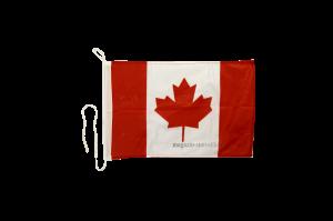 Флаг Канады на яхту