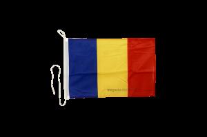 Флаг Румынии на яхту