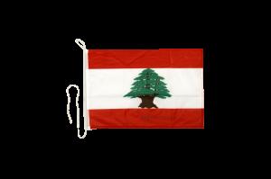 Флаг Ливана на яхту