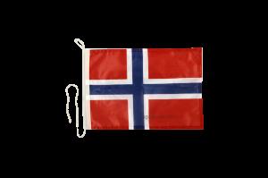 Флаг Норвегии на яхту