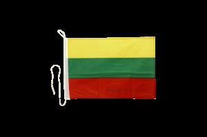 Флаг Литвы на яхту