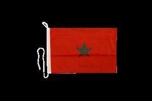 Флаг Марокко на яхту