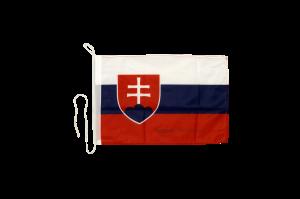 Флаг Словакии на яхту