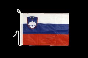 Флаг Словении на яхту