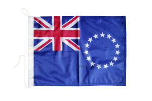 Флаг Островов Кука на яхту